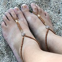 Barefoot Sandals/ Foot thongs   Blog ni ako