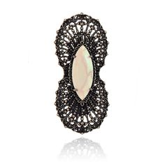 Samantha Wills Empress Ring Champagne Samantha Wills, Champagne, Crochet Earrings, Gemstone Rings, Womens Fashion, Gold, Jewellery, Style, Swag