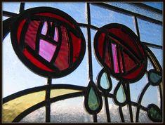 Charles Rennie Mackintosh stain glass