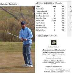 Congrats to my online client @danhorner78 for winning a tourney in Utah last weekend. He reached out looking to improve certain aspects of his mobility stability and flexibility to improve his already good golf game. Great win buddy!. #golfer #golfer #golfers #golffit #golffitnes #golfperformance #golftraining @mytpi #Mytpi #tpiworkout #tpigolffitness #azgolf #arizonagolf #scottsdalegolf #scottsdale #phoenixgolf #pga #lpga #symetratour #fitness #personaltrainer #personaltraining #pfs…