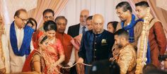 Desi Rascals starts with a Desi Wedding for Shreena and Prakash.