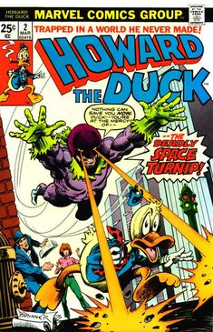 Favourite Comicbook Character: Howard the Duck (nominee)