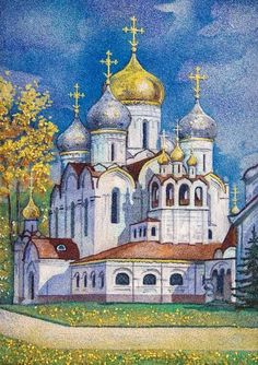 $237.00 Conception Convent - Workshop of St. Elisabeth Convent - Handmade - To learn more about our Crushed Stone Workshop: http://catalog.obitel-minsk.com/stone-workshop #Orthodox #Orthodoxy #Handmade #CrushedStone #Painting #Order #Purchase #Delivery #Unique #Church