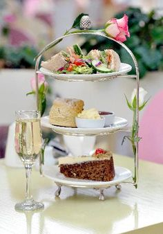 enjoy an afternoon tea ..once a month  I would love to do this with my sisters, mom and daughters.