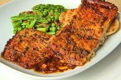 Bolen v česnekové marinádě Tandoori Chicken, Steak, Pork, Cooking Recipes, Ethnic Recipes, Diet, Pisces, Kale Stir Fry, Chef Recipes