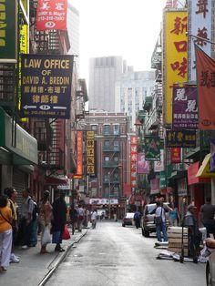 NYC. Chinatown