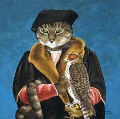 Oorsproinkelijk: Robert Cheseman. Geschilderd door Hans Holbein.