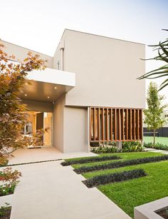 GARRELL STREET HOUSE - NORTH CAULFIELD by John Davey Architects , via Behance