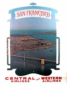 San Francisco ~ Western Airlines