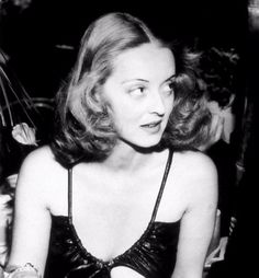 """""""When I was a girl, in the I'd come home from school, and I'd turn on the old movie channel, then I'd plump down on the couch with my girlfriends and take lessons from Bette Davis on how to scare the hell out of a man."""" -- Meryl Streep on Bette Davis. Golden Age Of Hollywood, Vintage Hollywood, Hollywood Glamour, Hollywood Stars, Classic Hollywood, Hollywood Lights, Hollywood Divas, Fred Astaire, Adrienne Ames"""