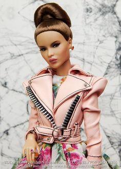 Fashion Royalty Dolls, Fashion Dolls, Fashion Show, Burlesque, African American Dolls, Poppy Parker, Barbie World, Custom Dolls, Cool Girl