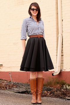 need need need a circle skirt like this.