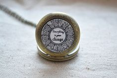 The Maze Runner Watch,quote necklace,Everything is gonna change pendent Necklace,Maze jewelry,unisex(HB001)