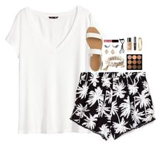 """""""Started watching the fosters on Netflix!"""" by pineappleprincess1012 ❤ liked on Polyvore featuring H&M, Victoria's Secret PINK, J.Crew, Apt. 9, Stella & Dot, NARS Cosmetics, MAC Cosmetics, NYX and Cartier"""