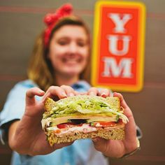 In need of food fast? Here's what to order at Jimmy John's that's both freaky fast and freaky healthy! Healthy Menu, Healthy Habits, Get Healthy, Healthy Eating, Jimmy Johns, Delicious Sandwiches, Wrap Sandwiches, Diet Recipes, Healthy Recipes