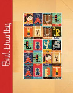 Alphabet book by Paul Thurlby