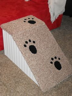 doggie steps for high beds | 18 inch high dog ramp. Perfect for long bodied dogs like Dachsunds and ...