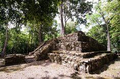 Las ruinas mayas de Muyil en Sian Kaan