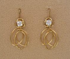Spinning Spirals Convertiblez 4 pc set  by EarringConvertiblez, $15.00