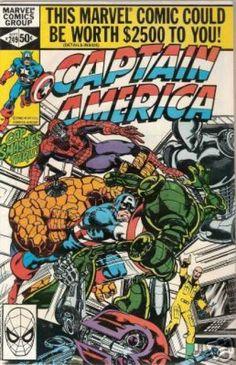 Captain America Covers #200-249