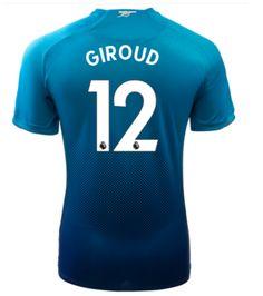 Adult #12 GIROUD Arsenal Away Blue Soccer Jersey 2017/18 Giroud Arsenal, Arsenal Jersey, Soccer, Sports, Blue, Shopping, Hs Sports, Futbol, European Football