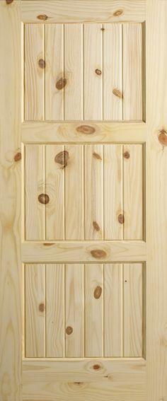 knotty pine interior door rustic home decor ideas solid wood doors
