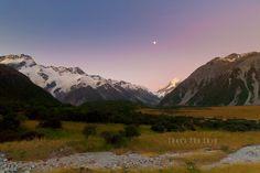 Mount Cook, South Island, New Zealand, Mountains, Nature, Travel, Naturaleza, Viajes, Trips
