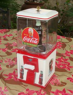 Restored Northwestern Coca Cola Gumball Machine Gumball Machine, Coke, Coca Cola, Restoration, Smile, Bottle, Flask, Cola, Jars