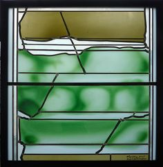Hubert Spierling, Stained Glass Window.