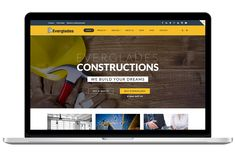 Construction WordPress Theme by CIAOThemes on Creative Market