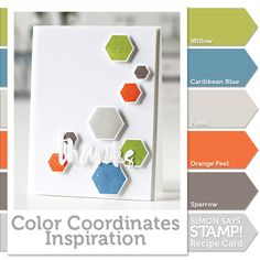 Color Coordinates: Gender neutral card!