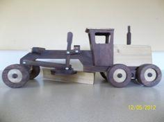 Wood Road Grader by Barbarela on Etsy, $55.00