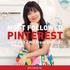 Most followed Pinterest user | Joy Cho from Oh Joy! | ARCHANA.NL