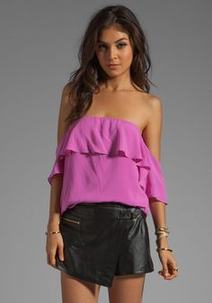 Boulee Emily Top in Mixed Pink  $132.00