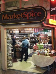 Market Spice at Pike's Place Market in Seattle has a huge selection of teas and spices. There's nothing quite as satisfying as being handled a little bundle of freshly dried spices or a sachet of tea.