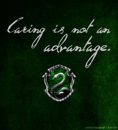 It really, really isn't. Come on, Gryffindor, it's time you realized this...