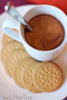 #Chocolate Quente Cremoso com Nutella