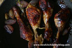 Marsala-Balsamico-Hühnchen