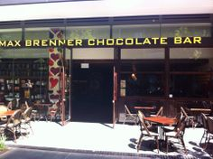 Max Brenner Chocolate Bar in Chippendale!