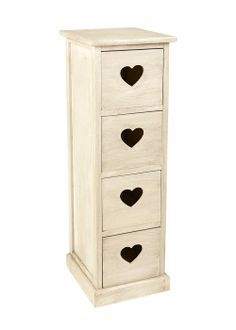 Heart drawers