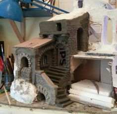 1 million+ Stunning Free Images to Use Anywhere Christmas In Italy, Christmas Town, Christmas Villages, Christmas Crafts, Christmas Decorations, Christmas Printables, Nativity House, Diy Nativity, Christmas Nativity Scene