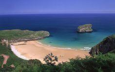 Playa de Ballota #Llanes #playa #beach #Asturias #ParaísoNatural #NaturalParadise #Spain
