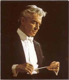 Herbert von Karajan was an Austrian orchestra and opera conductor. To the wider world he was perhaps most famously associated with the Berlin Philharmonic, of which he was principal conductor for 35 years.