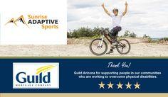 #guildmortgage #care #adaptivesports #disability #charity #sozofriends