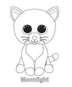 Ty Beanie Boos Coloring Pages Print Scraps Beanie Boo Coloring Pages  Coloring Quilt .