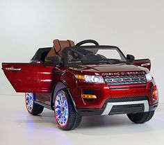Special Offers - 2015 Range Rover Sx Style 12v Kids Ride on Power Wheels Battery Toy Car Leather Seat -Real Pain Red - In stock & Free Shipping. You can save more money! Check It (June 07 2016 at 03:38PM) >> http://kidsscootersusa.net/2015-range-rover-sx-style-12v-kids-ride-on-power-wheels-battery-toy-car-leather-seat-real-pain-red/