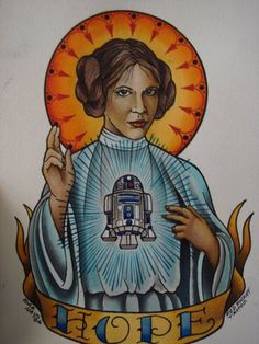 A New Hope tattoo by: red rocket