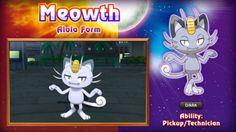 Pokémon Soleil et Lune : Miaouss change de forme