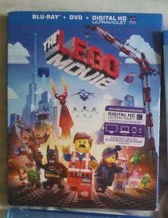 The Lego Movie (Blu-ray/DVD) Brand New