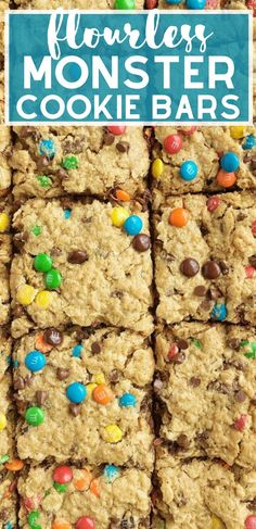 Gluten Free Oats, Gluten Free Desserts, Dairy Free, Great Desserts, Best Dessert Recipes, Monster Cookie Bars, Amazing Cookie Recipes, Easy Family Meals, Tummy Yummy